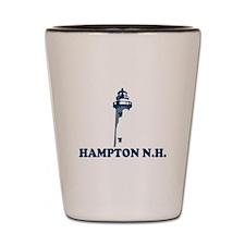 Hampton Beach NH - Lighthouse Design. Shot Glass