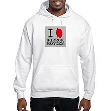 I <3 Horror Movies Hoodie