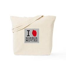 I <3 Horror Movies Tote Bag