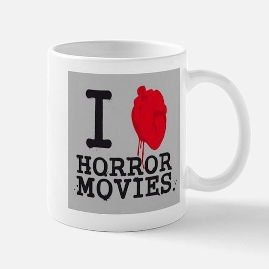 I <3 Horror Movies Mug