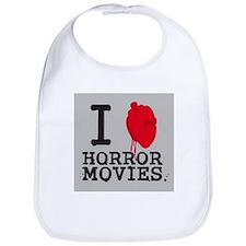 I <3 Horror Movies Bib