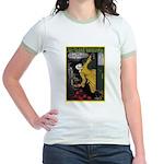 Victoria Arduino Jr. Ringer T-Shirt