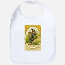 Standing Easter Bunny Rabbit Dressed Cane pipe Bib