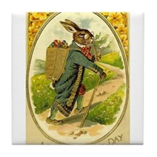Standing Easter Bunny Rabbit Dressed Cane pipe Til