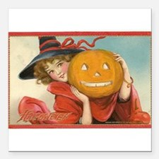Vintage Halloween Postcard Witch Frances Brundage