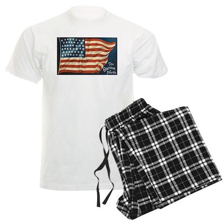Ellen Clapsaddle 4th of July Patriotic Flag Men's