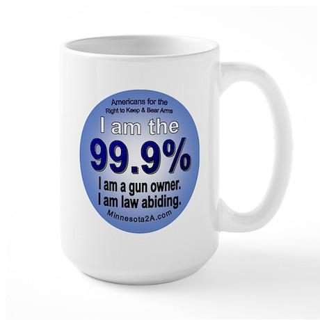 I am the 99.9% - American RKBA Large Mug