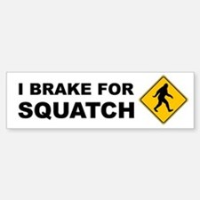 Bigfoot Bumper Bumper Sticker