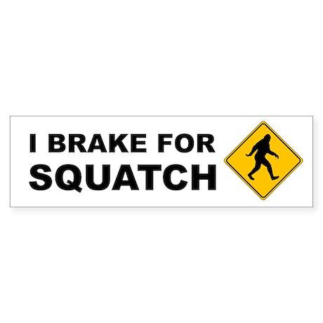 Bigfoot Sticker (Bumper)