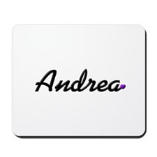 Andrea: Purple Heart Mousepad