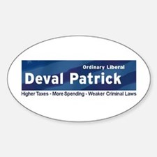 Good vs. Deval: Ordinary Liberal Oval Decal