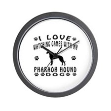 Pharaoh Hound design Wall Clock