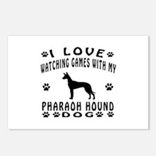 Pharaoh Hound design Postcards (Package of 8)