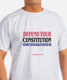 DEFEND YOUR CONSTITUTION T-Shirt