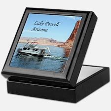 Lake Powell, Arizona, USA (caption) 1 Keepsake Box