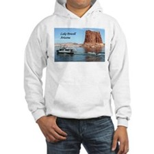 Lake Powell, Arizona, USA (caption) 1 Hoodie