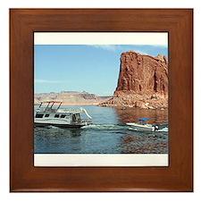 Lake Powell, Arizona, USA Framed Tile