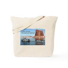 Lake Powell, Arizona, USA: Houseboat Heaven Tote B