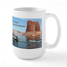 Lake Powell, Arizona, USA: Houseboat Heaven Mug