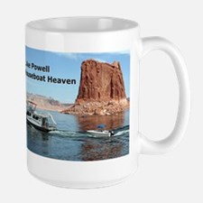 Lake Powell, Arizona, USA: Houseboat Heaven Mug