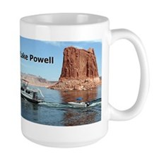 Lake Powell, Arizona, USA (caption) 2 Mug