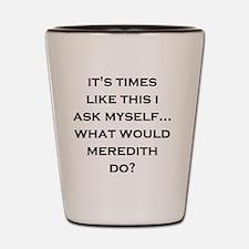 Unique Meredith Shot Glass