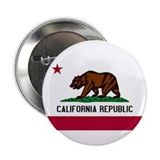 "California Flag 2.25"" Button"