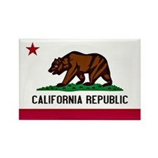California Flag Rectangle Magnet