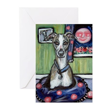 Jasper's portrait Greeting Cards (Pk of 10)