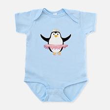 Ballerina Penguin Infant Bodysuit