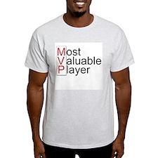 MVP Ash Grey T-Shirt