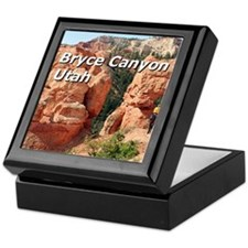 Bryce Canyon, Utah, USA 2 (caption 2) Keepsake Box