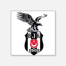 "Besiktas Square Sticker 3"" x 3"""