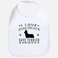 Skye Terrier design Bib