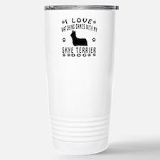 Skye Terrier design Travel Mug