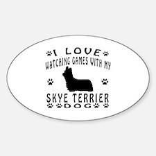 Skye Terrier design Decal