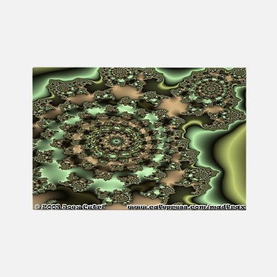 Fractal S~05 Rectangle Magnet