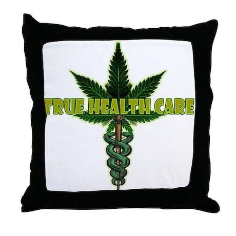 True Health Care Throw Pillow