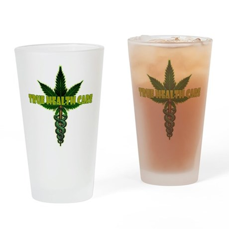 True Health Care Drinking Glass