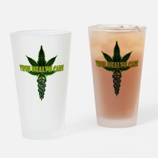 True Health Care Drinking Glass