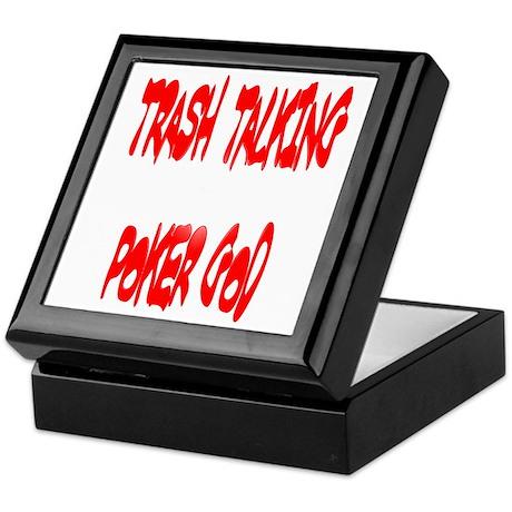 Trahs Talking Poker GOD Keepsake Box