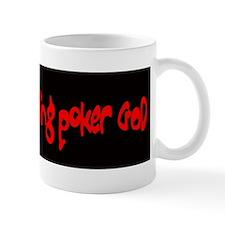 Trahs Talking Poker GOD Mug