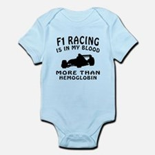 Formula one Racing Designs Infant Bodysuit