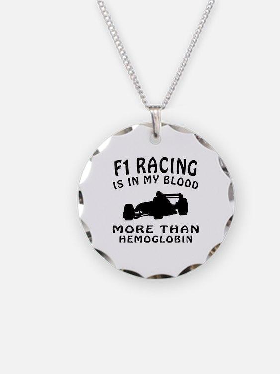 Formula one Racing Designs Necklace