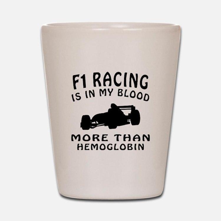 Formula one Racing Designs Shot Glass