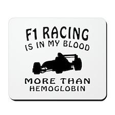 Formula one Racing Designs Mousepad