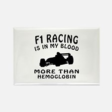 Formula one Racing Designs Rectangle Magnet