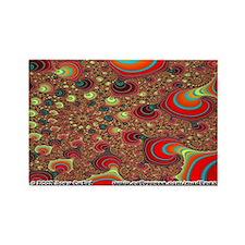 Fractal S~15 Rectangle Magnet (10 pack)