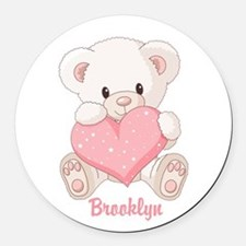 Bear Car Magnets Personalized Bear Magnetic Signs For Cars - Custom car magnets round