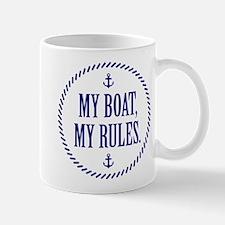 My Boat, My Rules Mug